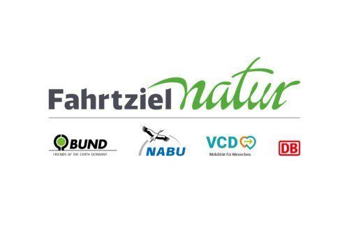 Logo Fahrtziel Natur mit Partner
