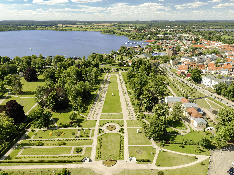 Schlossgarten Neustrelitz-Stadt Neustrelitz, Mecklenburgische Seenplatte