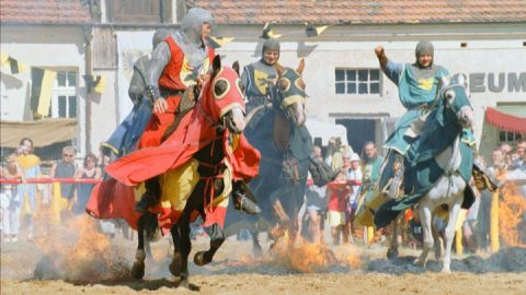 Burgfest in Burg Stargard, Mecklenburgische Seenplatte