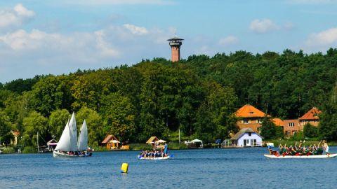 Fischerfest in Krakow am See, Mecklenburgische Seenplatte